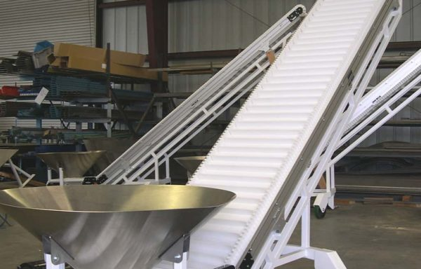 Stainless Steel Bulk Cleated Incline
