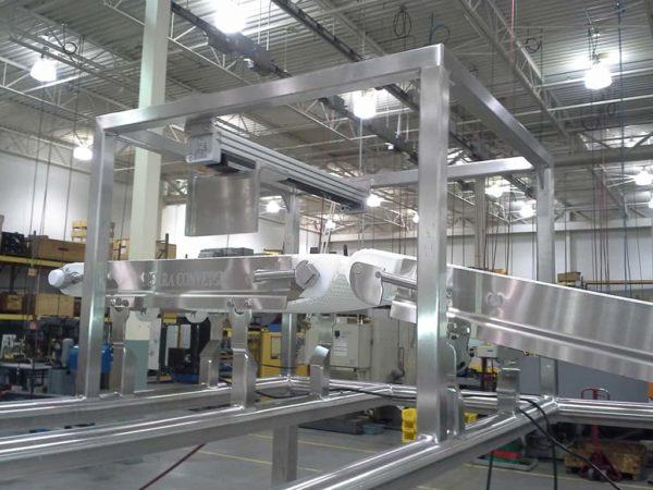 SST Plastic Modular Belt Sierra Conveyor