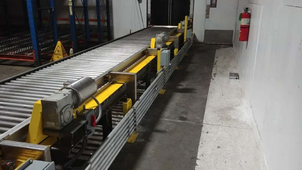 Chain Driven Live Roller