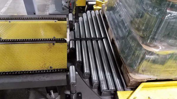 Chain Driven Live Roller Palette Conveyor
