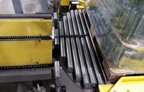 Chain Driven Live Roller Pallet Conveyor 3