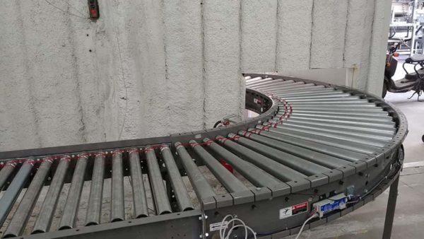 DC Motorized Roller Conveyor