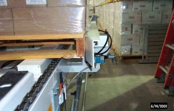 Drag Chain Pallet Conveyor 2