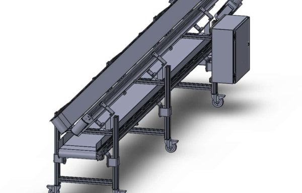 Conveyor Assembly Small Part Separation Conveyor