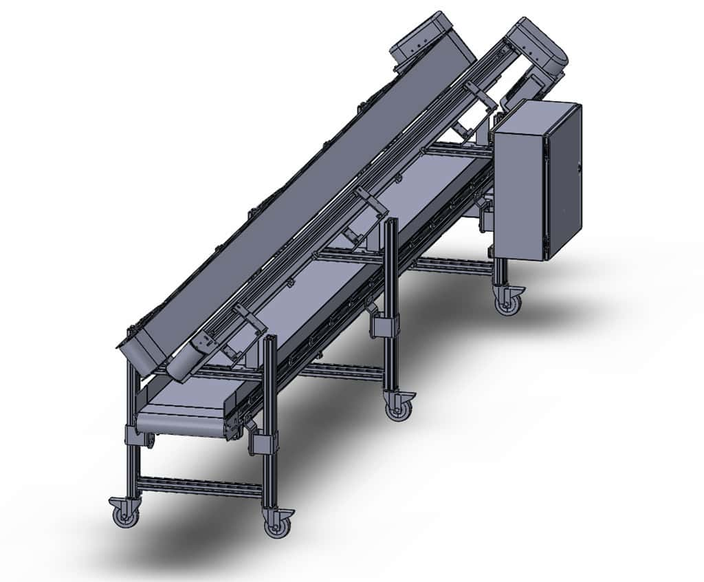 Conveyor Assembly Small Part Separation Conveyor – Sierra