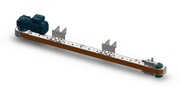 Side Belt Conveyor Assembly Design Build